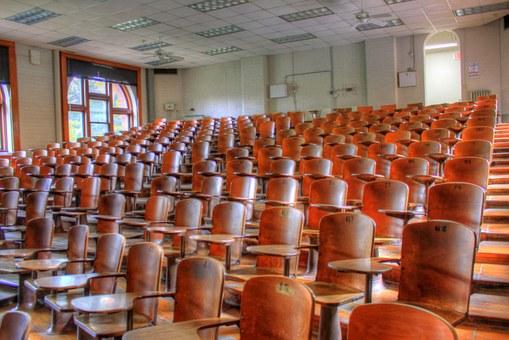 Foredragssal - min drøm .Foto. Pixabay